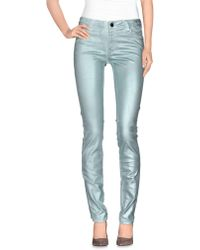 75 Faubourg Denim Trousers - Blue