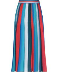 Stella Jean 3/4 Length Skirt - Red