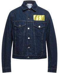 Helmut Lang Capospalla jeans - Blu