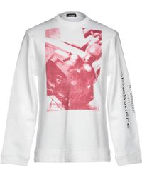 Raf Simons Sweat-shirt - Blanc