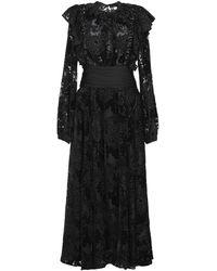Rochas Long Dress - Black