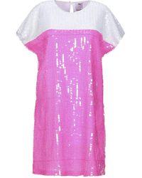 Ultrachic Short Dress - Purple