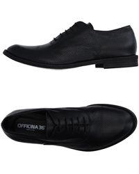 Officina 36 Lace-up Shoe - Black