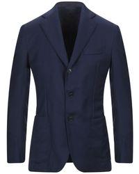 De Petrillo Suit Jacket - Blue