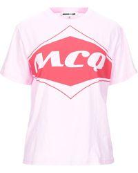 McQ T-shirt - Pink