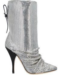 Marco De Vincenzo Ankle Boots - Metallic