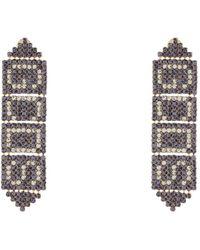 Gcds Earrings - Purple