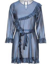 Mes Demoiselles Short Dress - Blue