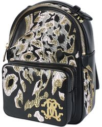 Roberto Cavalli Backpacks & Fanny Packs - Black