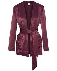 Iris & Ink Suit Jacket - Purple