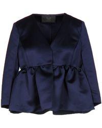 Betty Blue Suit Jacket - Blue