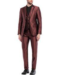 Dolce & Gabbana Anzug - Rot