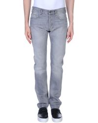 Mauro Grifoni Denim Trousers - Gray