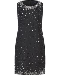 Clips Short Dress - Black