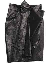 Lanvin Jupe au genou - Noir