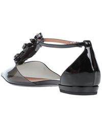Emporio Armani Ballet Flats - Black