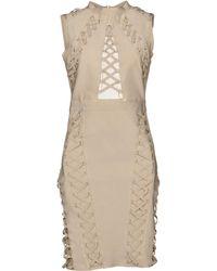 Wow Couture Robe aux genoux - Neutre