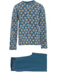 Moschino Pijama - Azul
