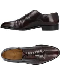 Armani Lace-up Shoes - Brown