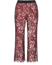 SCEE by TWINSET Trouser - Brown