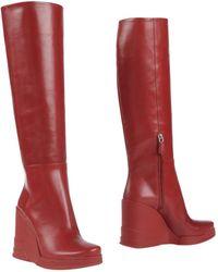 Prada Boots - Red