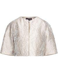 Talbot Runhof Suit Jacket - Natural