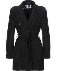 No Secrets Overcoat - Black