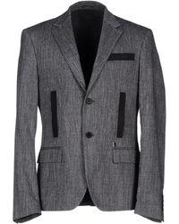 Bikkembergs Suit Jacket - Gray