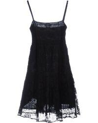 MASSCOB - Short Dress - Lyst