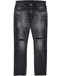 Neighborhood Pantalon en jean - Noir