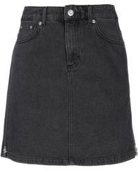 French Connection Denim Skirt - Black