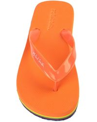 PS by Paul Smith Toe Strap Sandal - Orange
