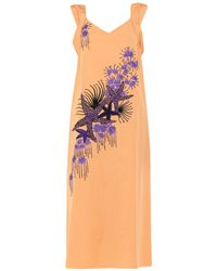 Dries Van Noten - 3/4 Length Dress - Lyst