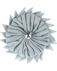 Moschino Brooch - Grey