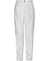Armani Jeans Casual Trousers - White