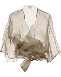 Armani - Wrap Cardigans - Lyst