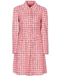 L'Autre Chose Overcoat - Pink