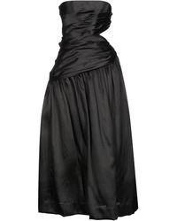 Zimmermann Long Dress - Black