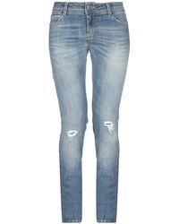 Met Denim Trousers - Blue