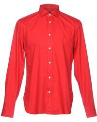 Mp Massimo Piombo - Shirt - Lyst