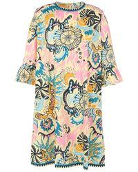 Le Sirenuse Robe courte - Multicolore
