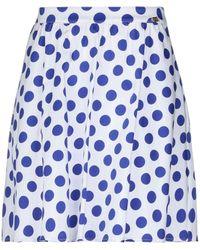 Blugirl Blumarine Knee Length Skirt - White