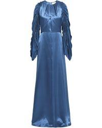 ROKSANDA Robe longue - Bleu