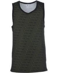 Moschino Sleeveless Undershirt - Green