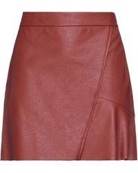 8pm Mini Skirt - Red