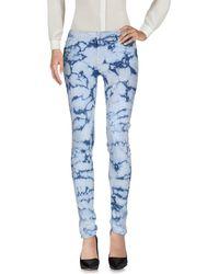 Mother Pantalones - Azul