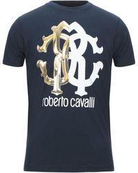Roberto Cavalli Camiseta - Azul