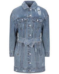 ONLY Manteau en jean - Bleu