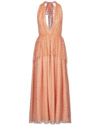 Nolita Long Dress - Orange