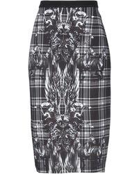 Philipp Plein Midi Skirt - Black